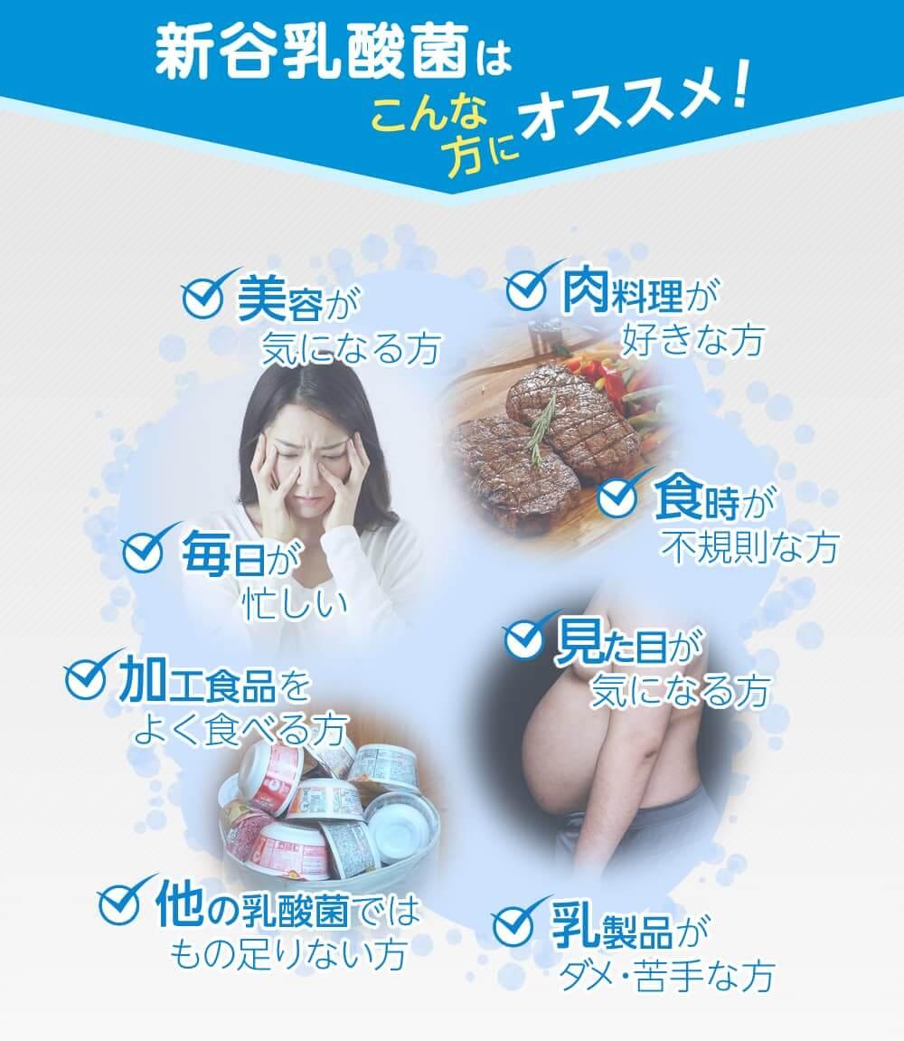 美と健康を保ち、快適に過ごすには「善玉菌」を増やすことが大切です。
